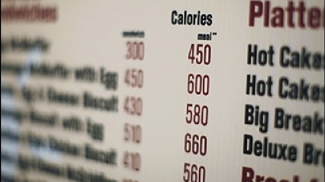 Calorie counts on the menu -- are they working?
