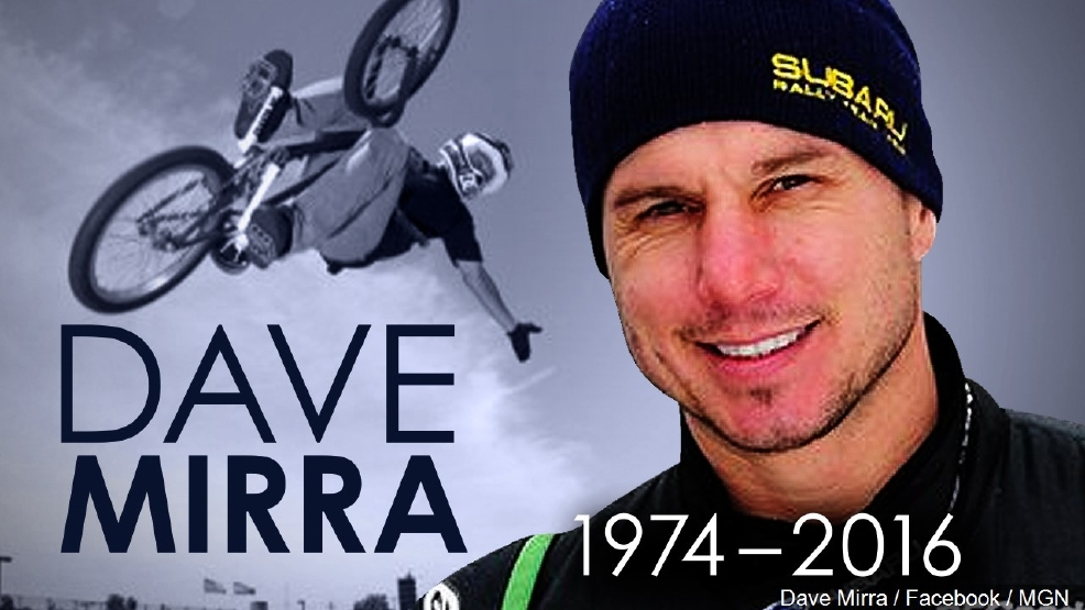 Family pay tribute to 'remarkable' Dave Mirra after suicide